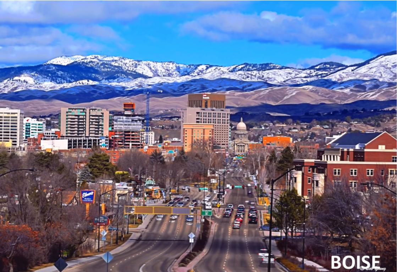 Boise, Idaho - Angela Mae Schlagel